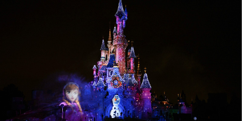 Disney dreams specatculaire avond show in Disneyland Paris